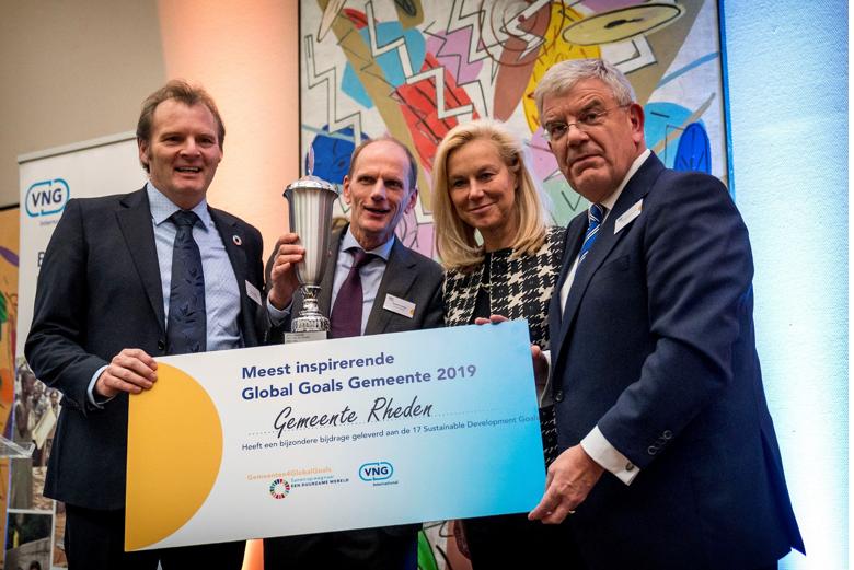 Rheden 'Meest inspirerende Global Goals Gemeente van Nederland'