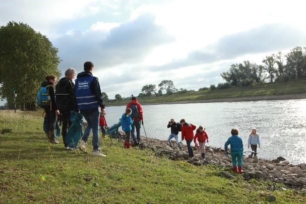 Rheden in actie voor schone IJsseloevers